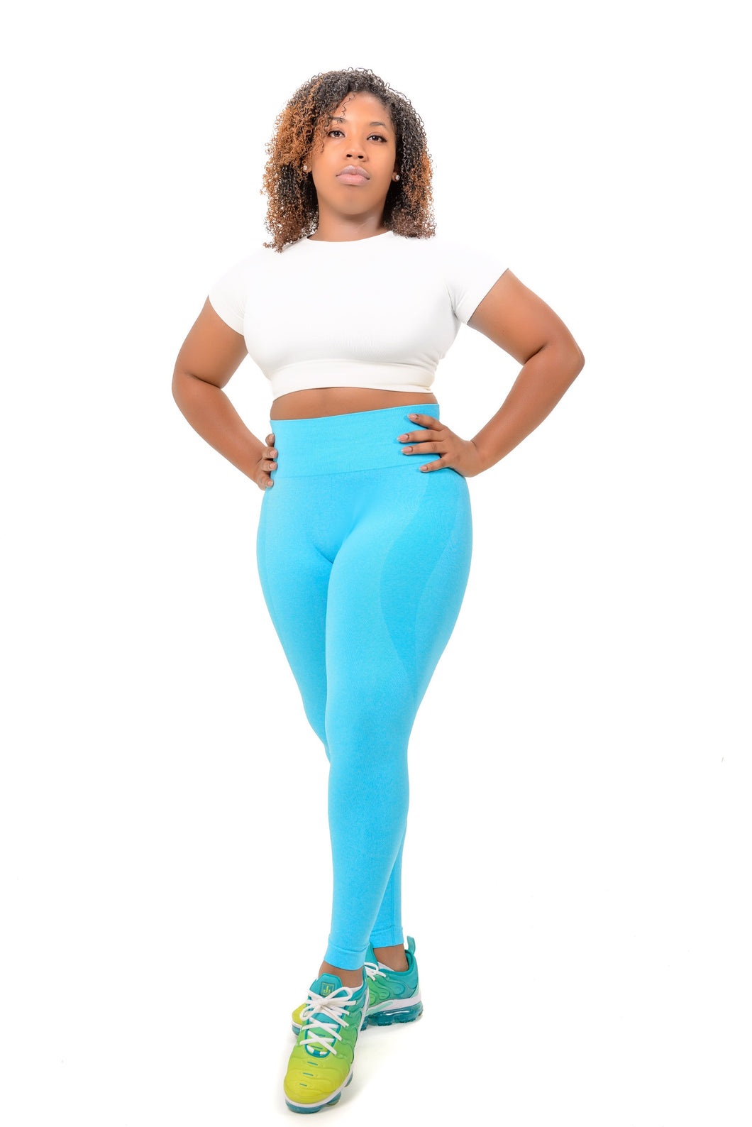 Blue Dream Seamless Leggings - Her Dope Shine