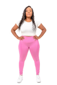 Lady Pink Seamless Leggings