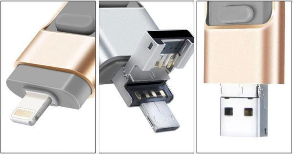 iFLASH™ -  USB Drive for iPhone, iPad & Android [New Tech 2020] - 5econds.co
