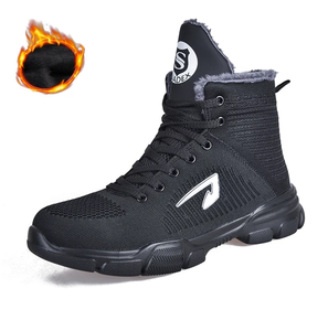 BATTLE-X Indestructible Boots - Outdoor Steel Toe Protective Anti Smashing Work Puncture Proof Sneakers
