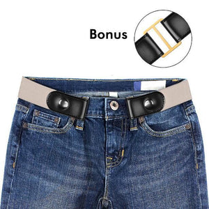 ComfyFirst™ - Comfy Buckle Free Elastic Metal Belt for Men & Women - 5econds.co