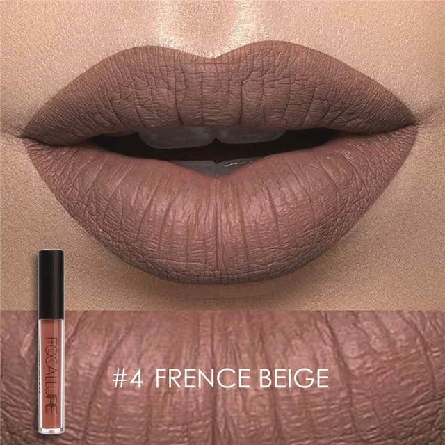 Fabulous 5econds SmudgeProof Waterproof Liquid Lipstick - Gold Shimmer Metallic Nude Matt Liquid Lipstick