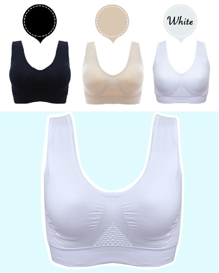 AirBra™ - Premium Invisible Wireless Push Up Lifting Bra - 5econds.co