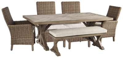 Beachcroft Signature Design 6-Piece Outdoor Seating Set