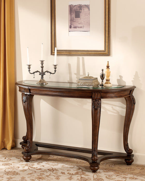 Norcastle Signature Design by Ashley Sofa Table