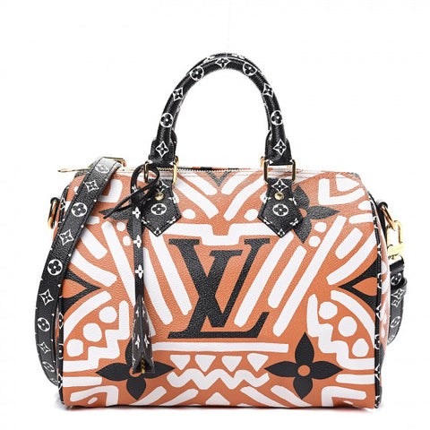 LOUIS VUITTON Multicolor Crafty Speedy 25 Bandouliere Shoulder Bag