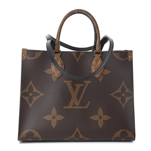 LOUIS VUITTON Reverse Monogram Ontheigo MM Shoulder Bag