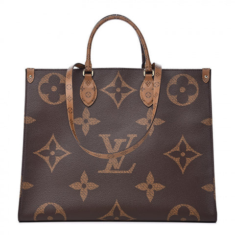 LOUIS VUITTON Reverse Monogram Ontheigo GM Shoulder Bag