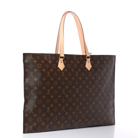 LOUIS VUITTON Brown Monogram All-In Tote Bag