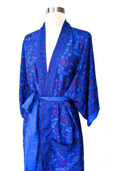 Short Floral Summer Robe, Short