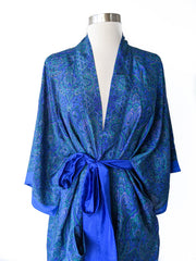 Traditional Blue Robe, Short