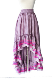 Maria Hi Low Maxi Skirt - Lavender