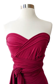 Taylor Infinity Convertible Wrap Top Red