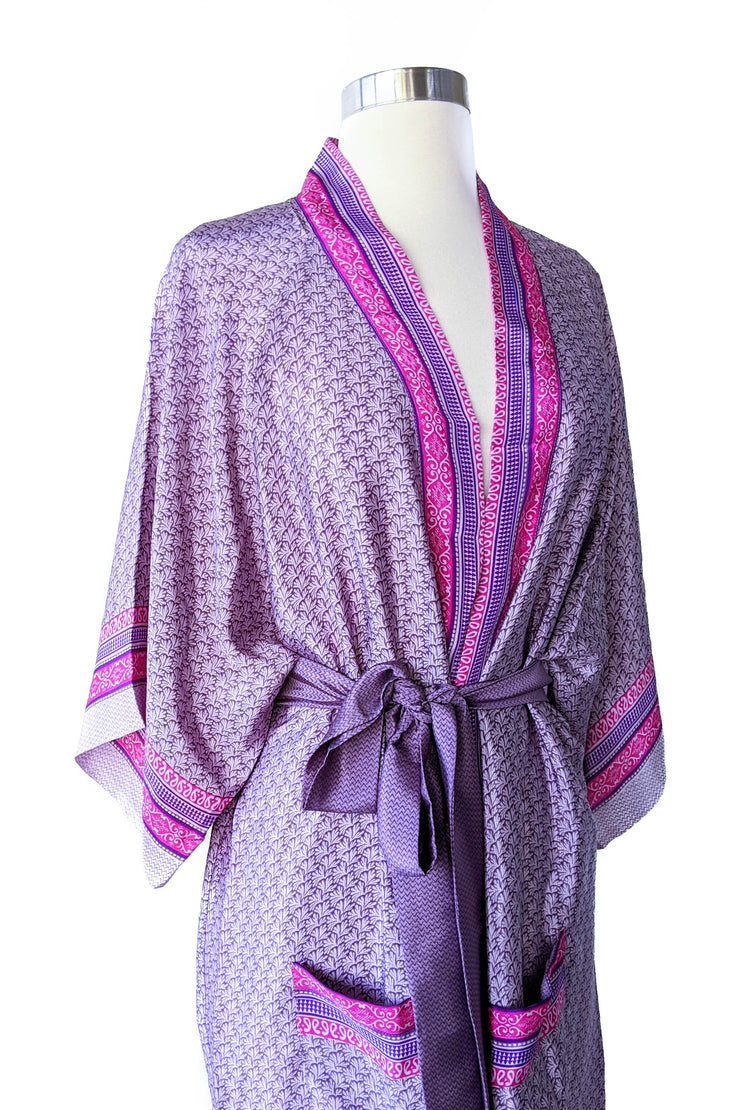 Lavender Feather Boho Wrap