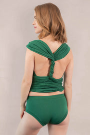 Taylor Infinity Convertible Wrap Top Green