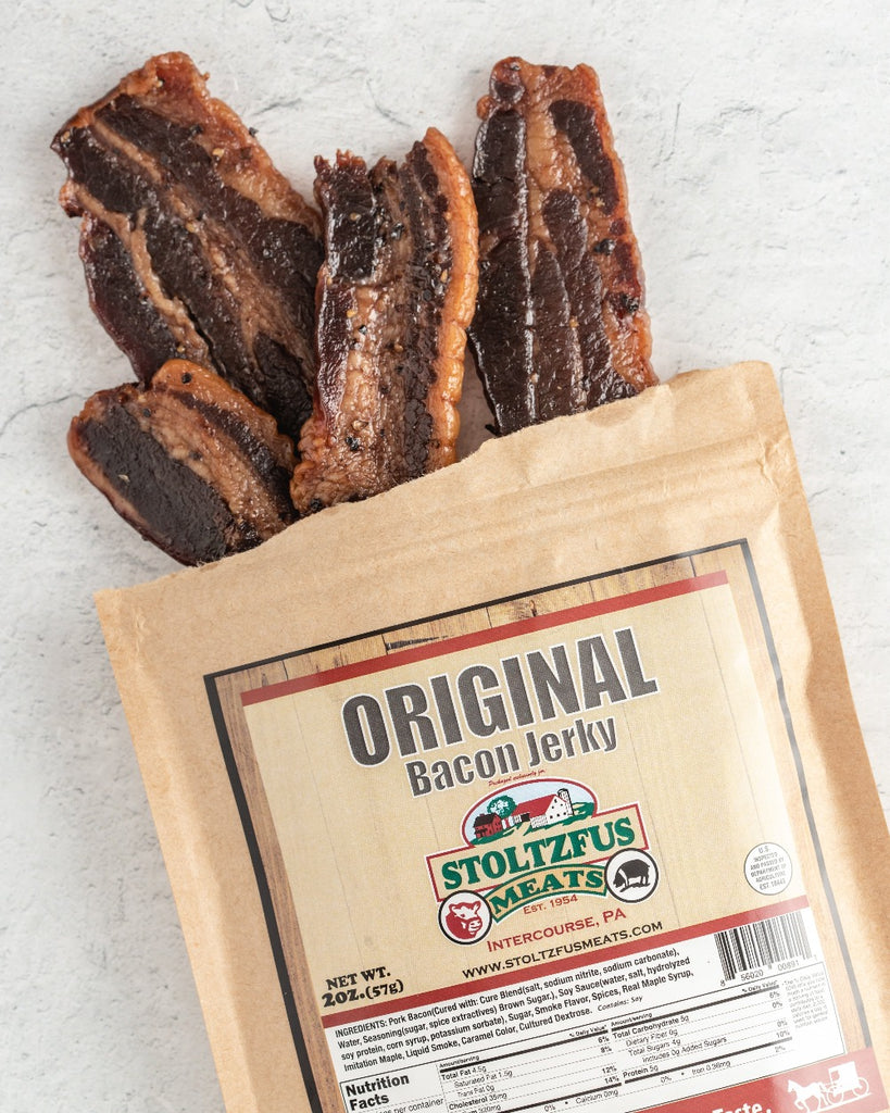Bacon Jerky - Stoltzfus Meats