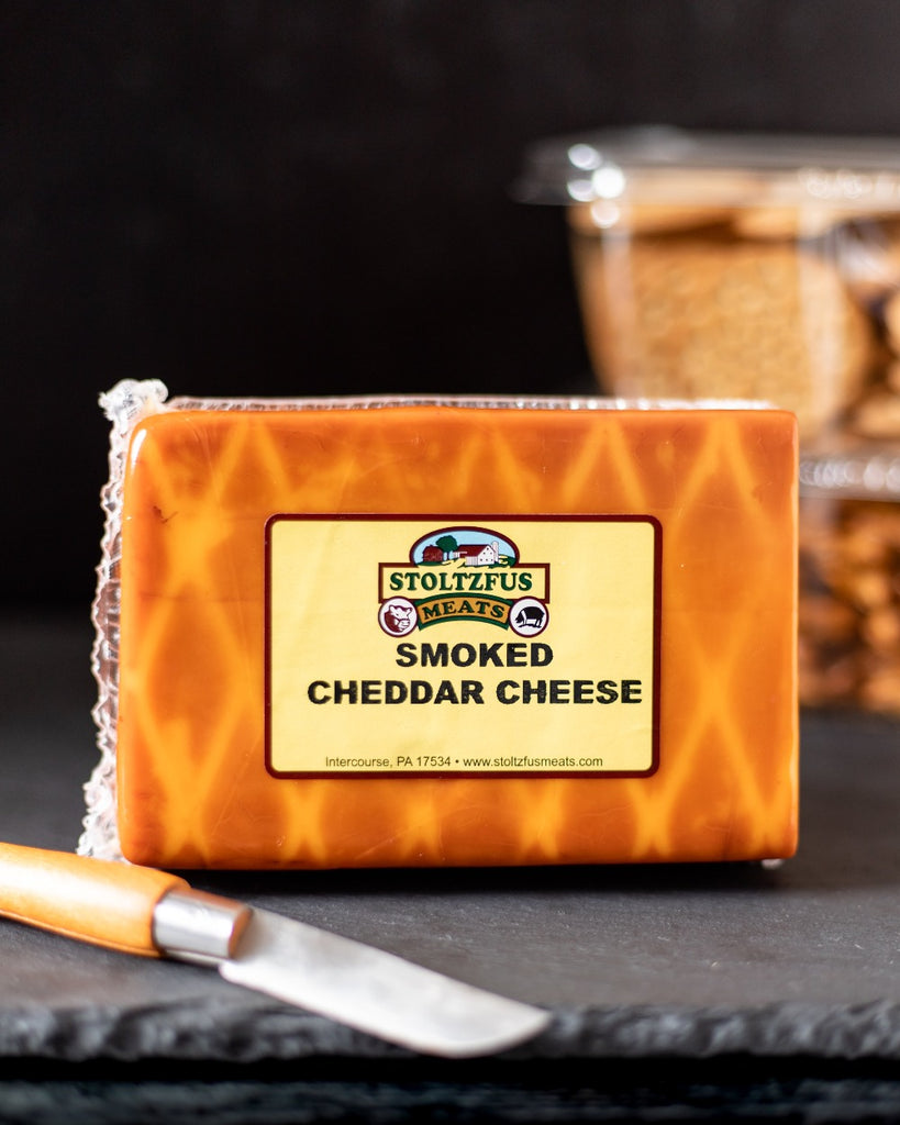 Smoked Cheddar Cheese - Stoltzfus Meats