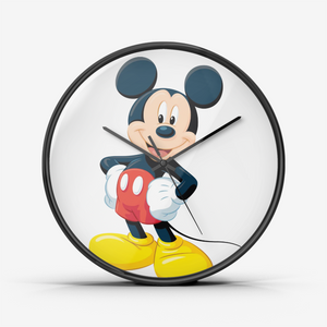 "Horloge murale silencieuse ""Mickey Mouse"""