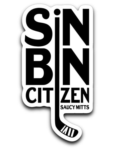 Sin Bin Citizen Hockey Decal