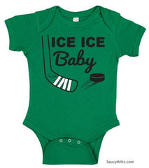 Ice Ice Baby Bodysuit kelly green