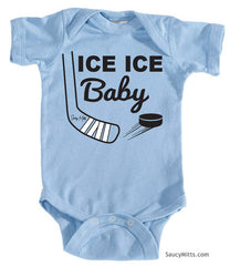 Ice Ice Baby Bodysuit light blue