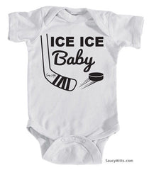 Ice Ice Baby Bodysuit white