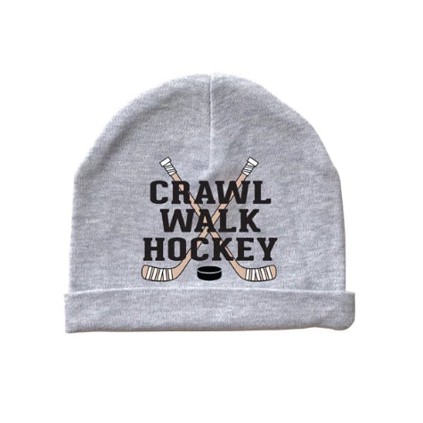 Crawl Walk Hockey Baby Beanie