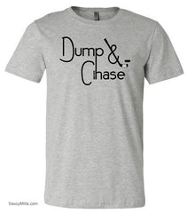 Dump and Chase Hockey Shirt heather gray