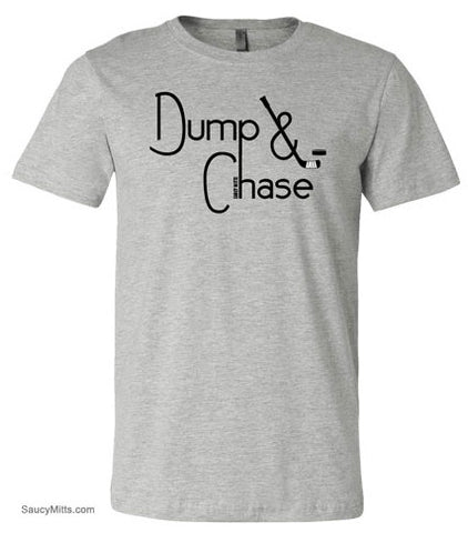 Dump and Chase Youth Hockey Shirt