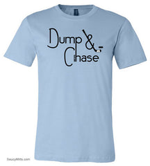 Dump and Chase Hockey Shirt light blue