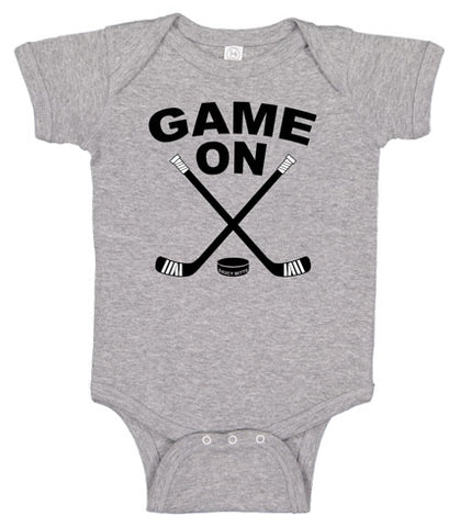 Game On Hockey Baby Bodysuit