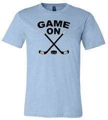 Game On Kids Hockey Shirt light blue