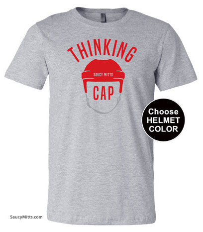 Thinking Cap Youth Hockey Shirt