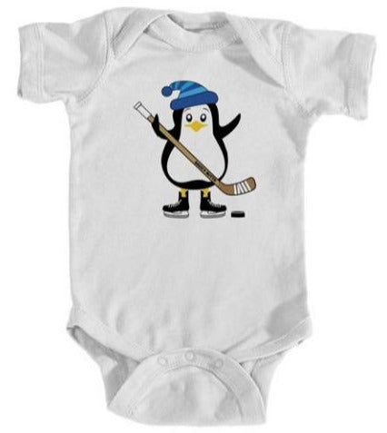 Hockey Penguin Infant Bodysuit
