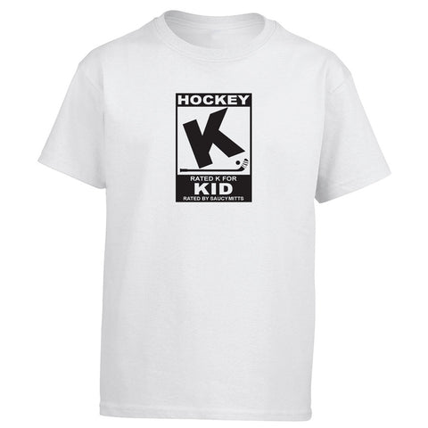 Rated K for Hockey Kid Shirt