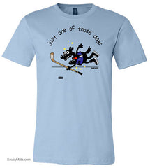 Just One of Those Days Youth Hockey Shirt light blue
