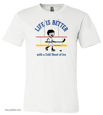 Life is Better Youth Hockey Shirt