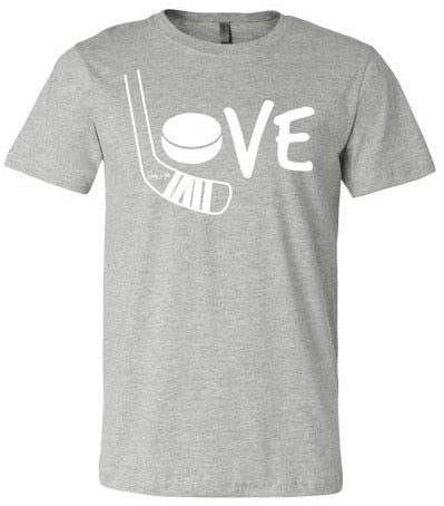 Love Hockey Shirt White