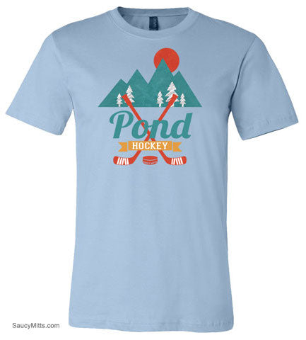 Retro Pond Hockey Shirt
