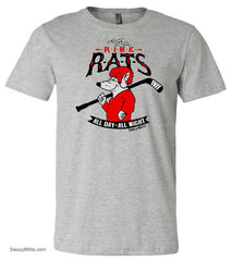 Rink Rats Youth Hockey Shirt heather gray