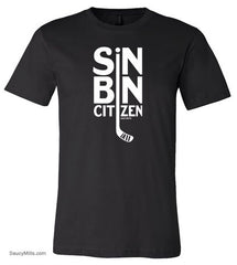 Sin Bin Hockey Shirt black