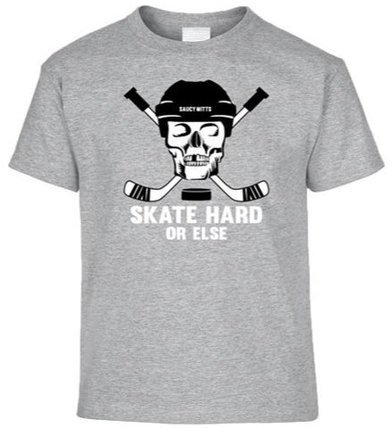 Skate Hard Youth Hockey Shirt