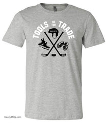 Tools Of The Trade Youth Hockey Shirt heather gray