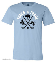 Tools of the Trade Hockey Shirt light blue