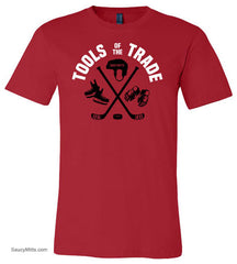 Tools of the Trade Hockey Shirt red