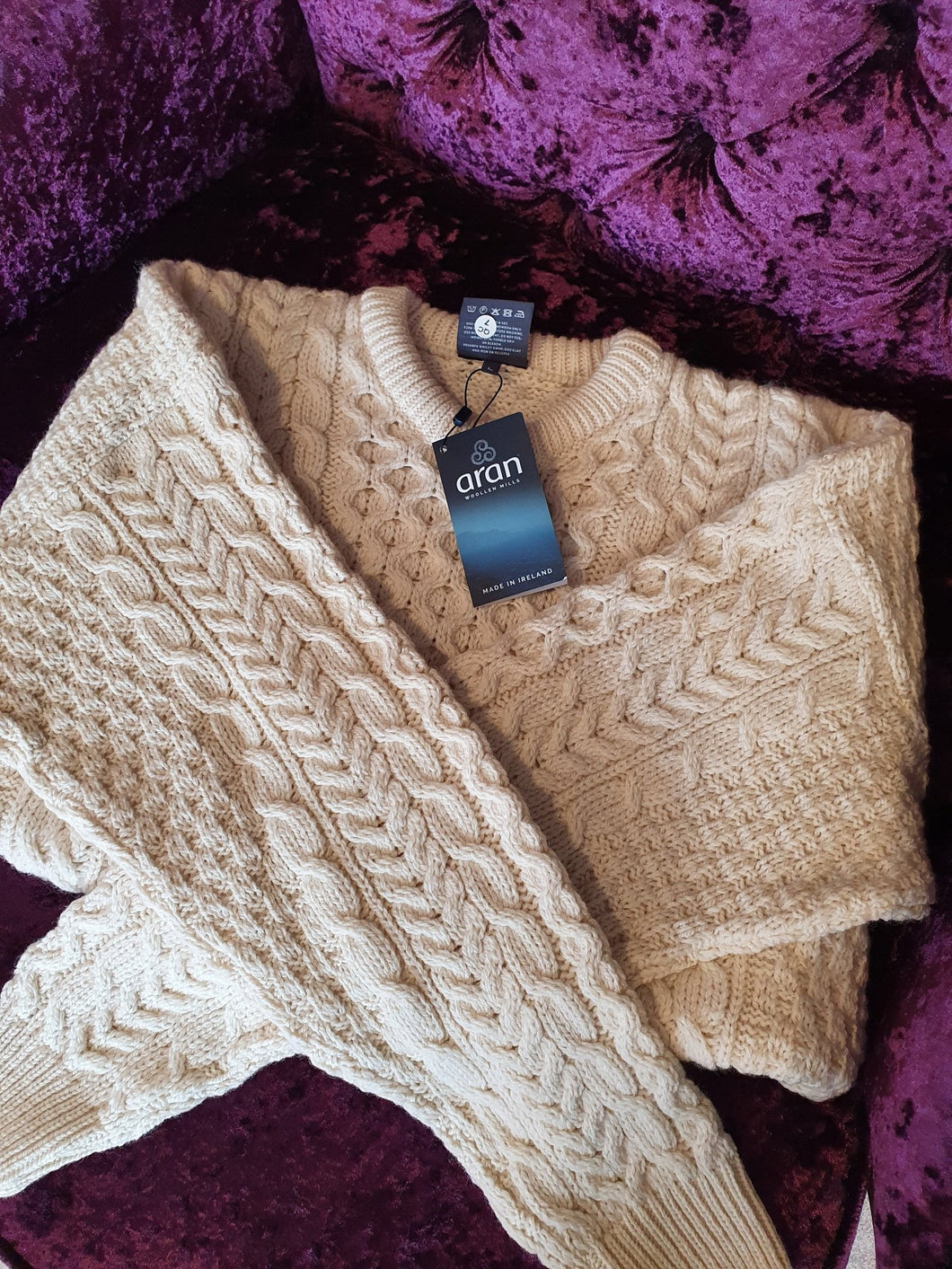 Original Irish Aran Sweater