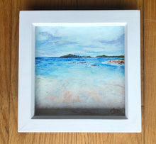 Load image into Gallery viewer, 'Carrickfin'  Acrylic framed original by Marion Rose     6 x 6 inches