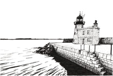 Load image into Gallery viewer, Limited Edition Black/White Pier at Howth by Kevin Lowery  (unframed)