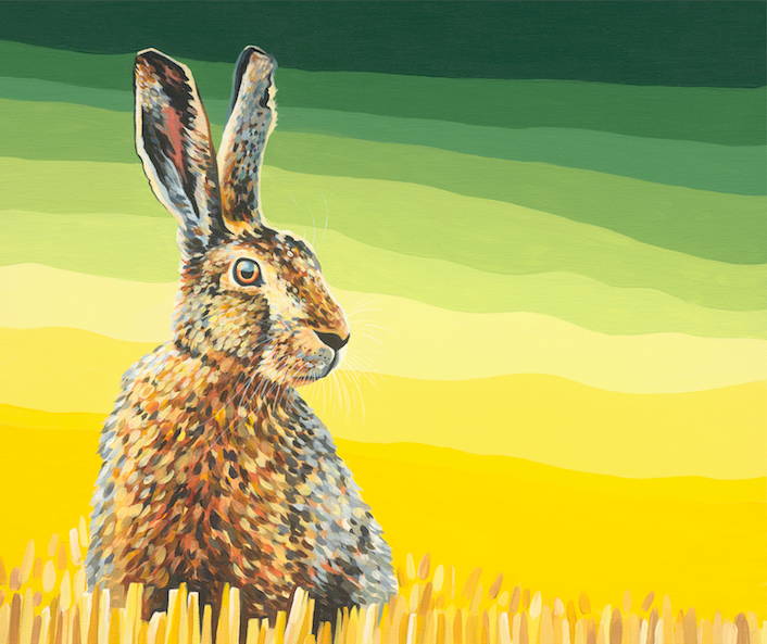 'Hare in the Barley'