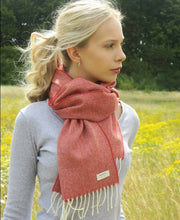 Load image into Gallery viewer, Lambswool Scarf by McNutt of Donegal